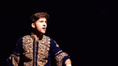 Actor performing